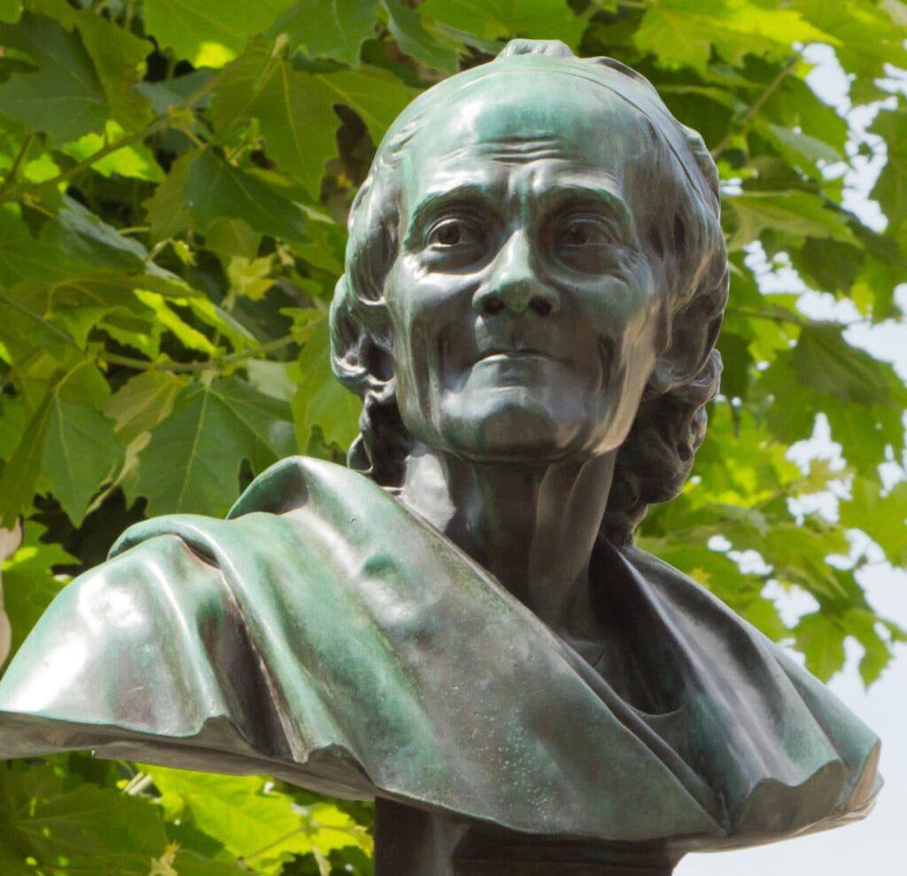 Buste Voltaire